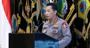 Kapolri Buka Rakernis SSDM Bertajuk 'Megatrend Indonesia Unggul dari 2020-2045'