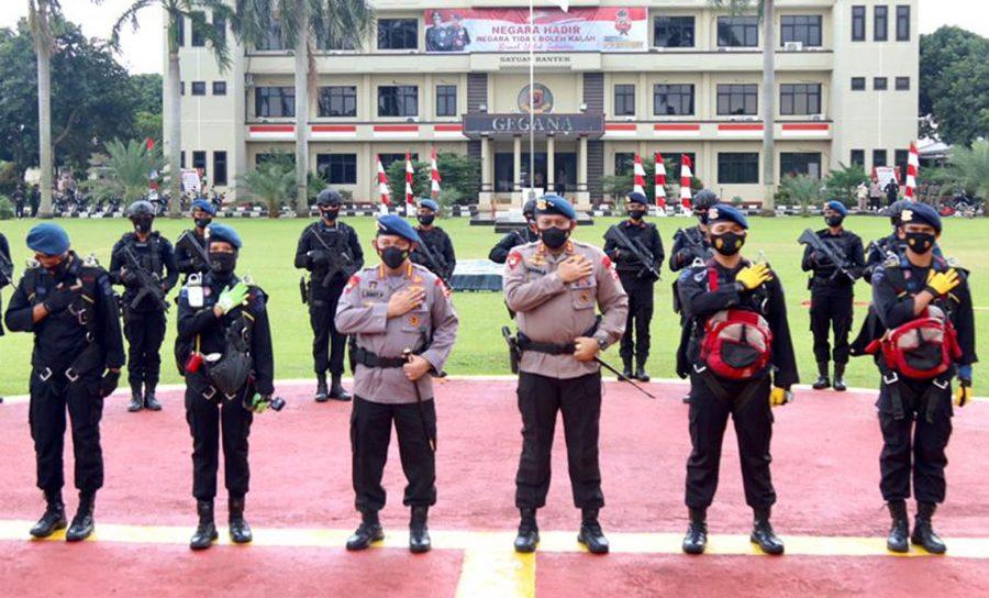 Kapolri Apresiasi Dedikasi Korps Brimob Dalam Tugas Kemanusiaan