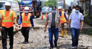 Pemkot Tangerang Targetkan Perbaikan Jalan Rampung Dalam Empat Bulan