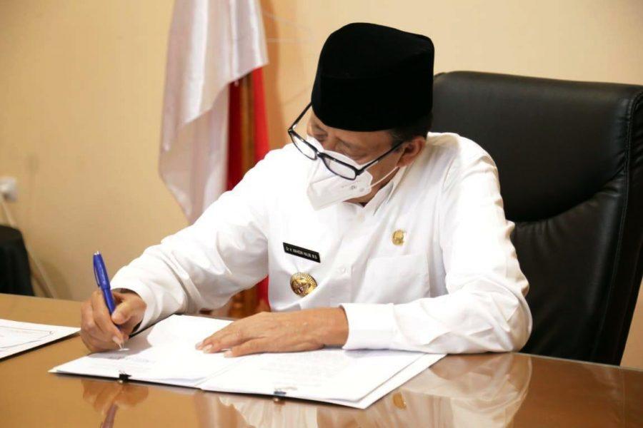 Gubernur Banten Bentuk Tim Percepatan dan Perluasan Digitalisasi Daerah TP2DD
