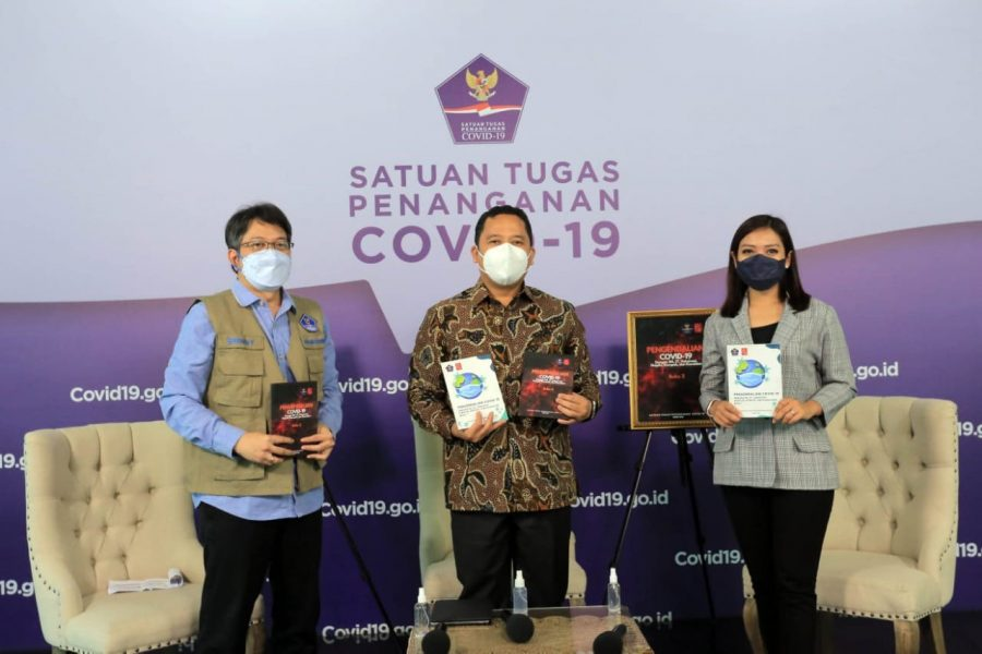 Wali Kota Jadi Narsum Talkshow BNPB Progres Penanganan Pandemi di Kota Tangerang