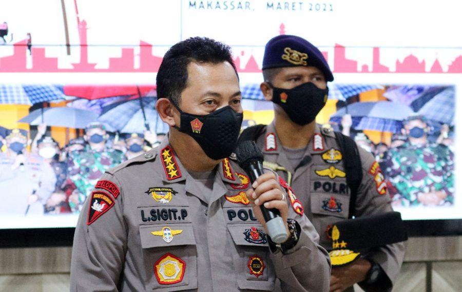 Kapolri Ungkap Fakta Pasutri Pelaku Bom Bunuh Diri di Makassar
