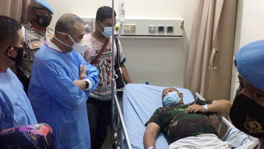 Korban Penembakan Rampok di ATM BRI Unit Kukun Menjalani Perawatan