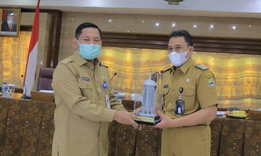 Terkait Pengolahan Sampah, Pemerintah Kota Cilegon Kunjungi Pemkot Tangerang