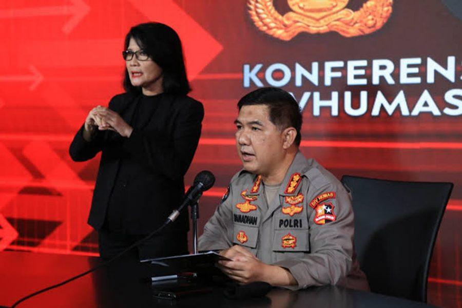 Polri Ungkap 7 Terduga Teroris Jaringan JAD yang Ditangkap Terkait Bom di Makassar