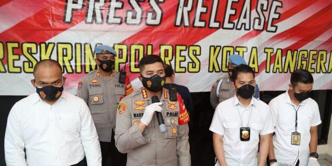 Polresta Tangerang Ringkus Dua Pelaku Curanmor di Desa Cikupa