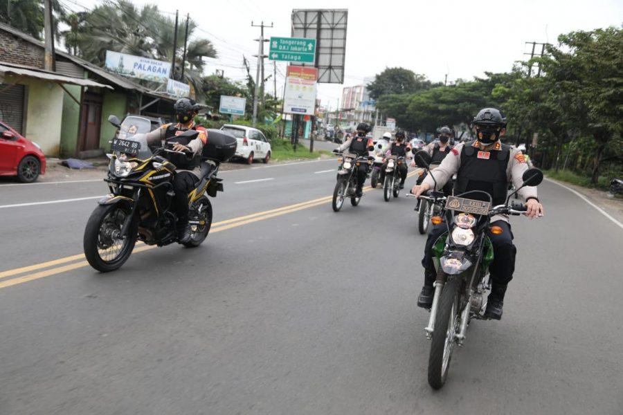 Pencegahan Tindak Kriminalitas, Polresta Tangerang Gelar Patroli Roda Dua Skala Besar