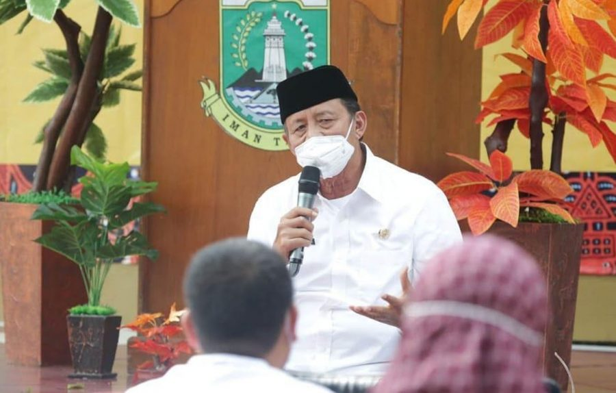 Gubernur Banten Tekankan Sinkronisasi Data Penanganan Covid-19 Dimaksimalkan