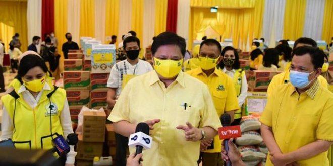 Airlangga Hartarto Himbau Seluruh DPD Partai Golkar Menangkan Pemilu 2024
