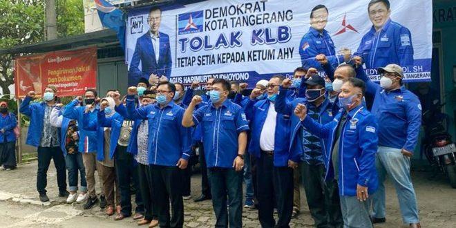 Kader Partai Demokrat se-Kota Tangerang Tandatangani Fakta Integritas Soliditas Kepada AHY