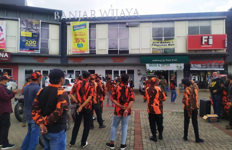 Ormas Pemuda Pancasila Pertanyakan Bangunan Tanpa IMB di Kantor Pengelola Banjar Wijaya