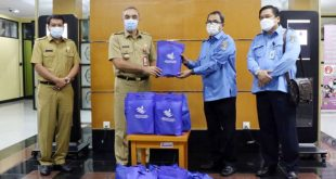 Pemkab Tangerang Terima 2000 Paket Sembako dan 6 Perahu Karet dari Perundam TKR