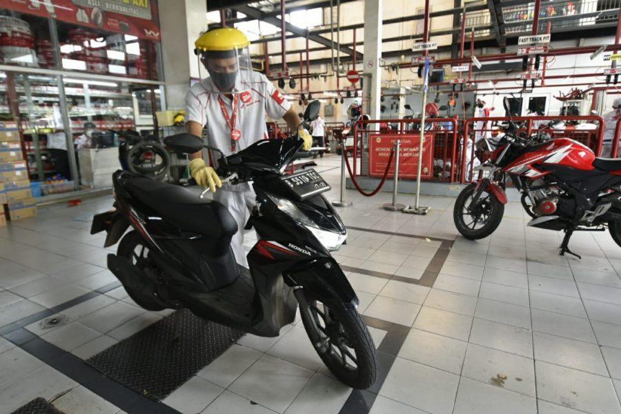 Cek Gratis Motor Honda Demi Konsumen Setia