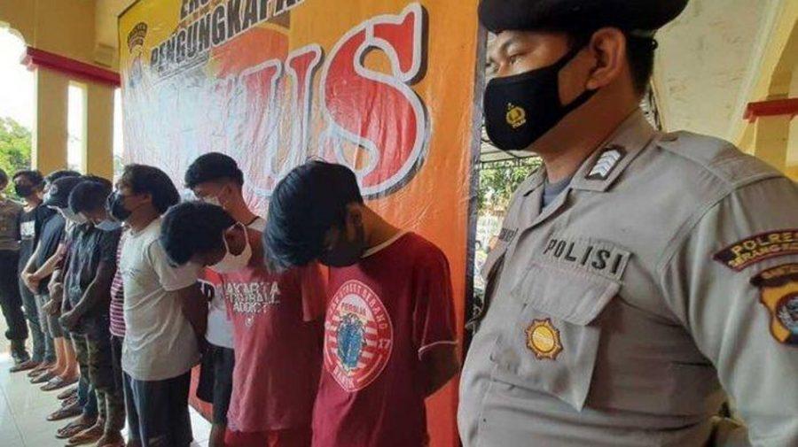 Polda Banten Tetapkan 15 Orang Geng Motor All Star Menjadi Tersangka Pembuat Onar