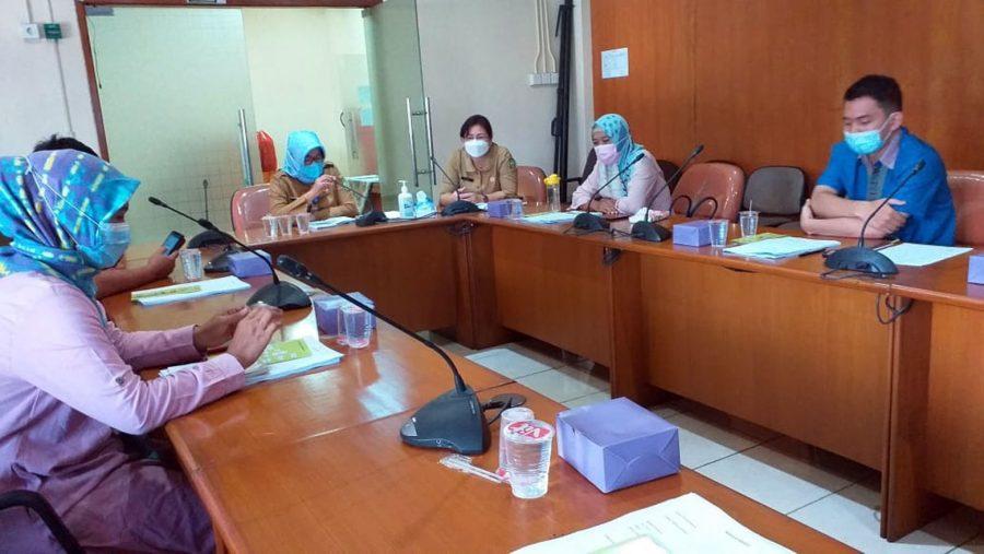 Disnaker Kota Tangerang Gelar Rapat Proses Pelaksanaan Akreditasi LPK