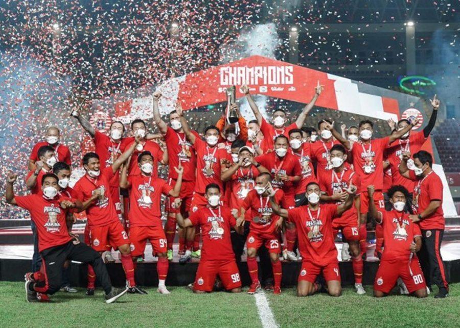 Persija Jakarta Juara Piala Menpora 2021, Suporter Macan Kemayoran Rayakan Kemenangan