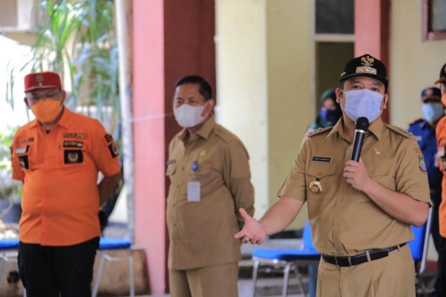 Peringati HKB: BPBD Kota Tangerang Gelar Simulasi Antisipasi Bencana