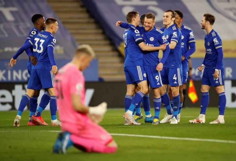 Liga Inggris: Leicester City Hajar Crystal Palace 2-1