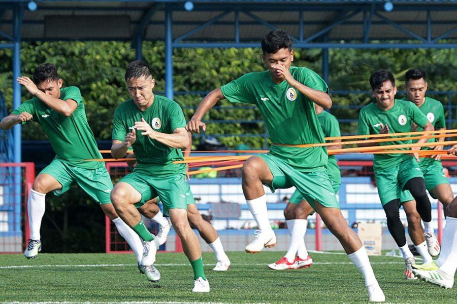 8 Besar Piala Menpora: PSS Sleman Gas Poll Berlatih Jelang Hadapi Bali United