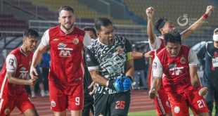 Persija Jakarta ke Final Piala Menpora 2021 Usai Kalahkan PSM Makassar