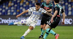 NapoliTak Berhasil Unggul LawanInter Milan Skor Berimbang 1-1