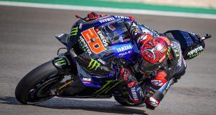 Fabio Quartararo Finish Terdepan di MotoGP Portugal 2021