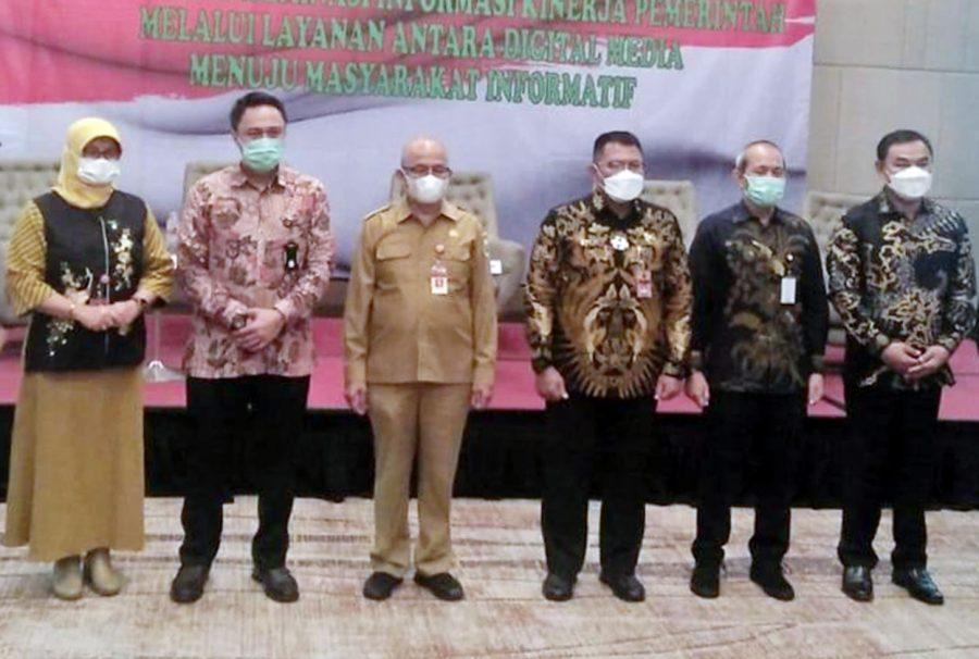 Pemprov Banten Ajak Media Digital Sosialisasikan Penerapan Protokol Kesehatan