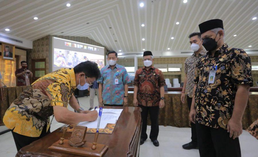 Pemkot Tangerang Lantik 63 Pejabat Fungsional, Sachrudin: ASN Harus Bekerja Profesional