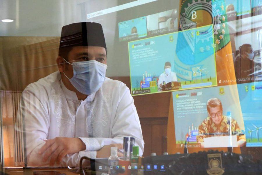 Walikota Arief Tandatangani Uji Coba Pengelolahan Sampah Menjadi RDF