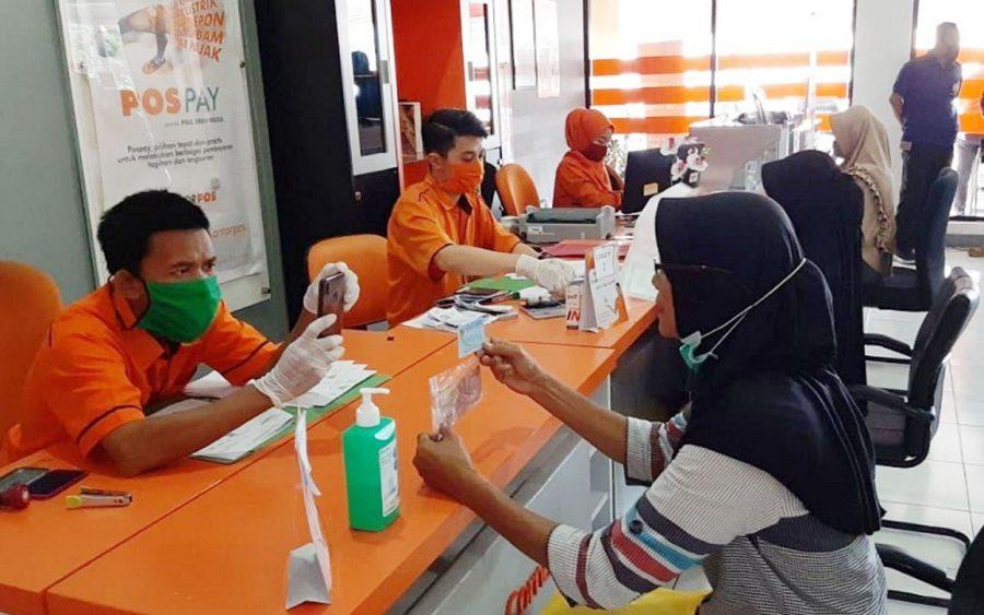 Kantor Pos Rangkasbitung Lebak Kembali Distribusikan BST Rp.81 Miliar