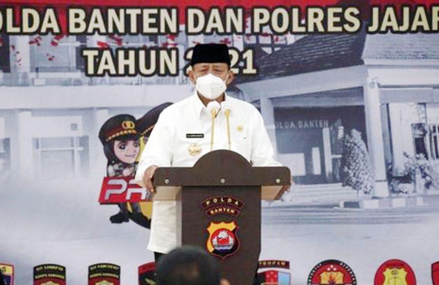 Gubernur Banten: Pembangunan Zona Integritas Tingkatkan Kualitas Layanan Pemerintah
