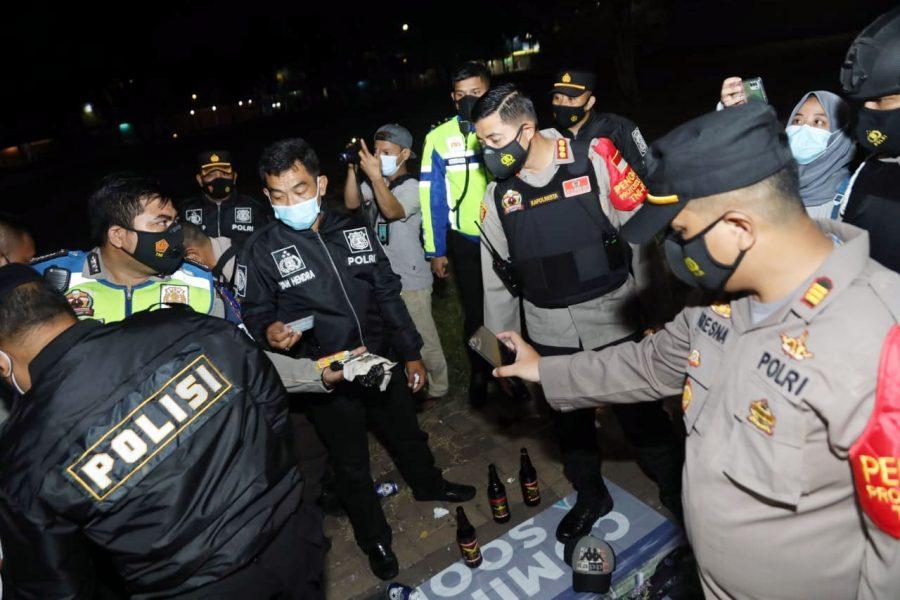 Polresta Tangerang Gelar Patroli Skala Besar di Kawasan Citra Raya