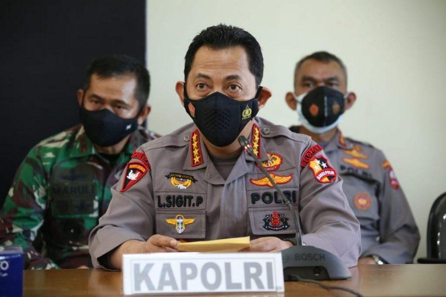 Kerahkan Kekuatan Terbaik, Kapolri Dirikan Posko Evakuasi KRI Nanggala 402