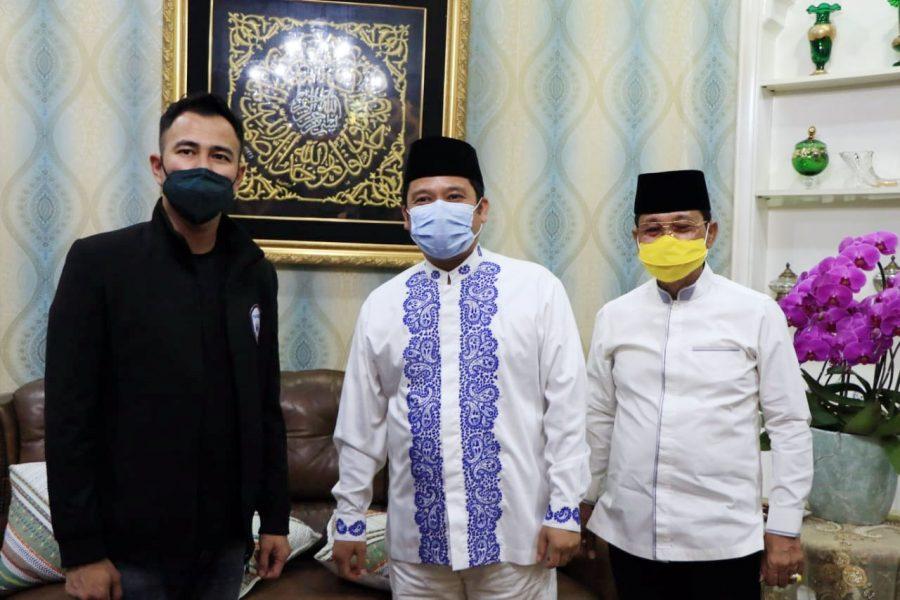 Rafi Ahmad Kunjungi Kediaman Wali Kota Tangerang Bahas Kerjasama Klub Sepakbola