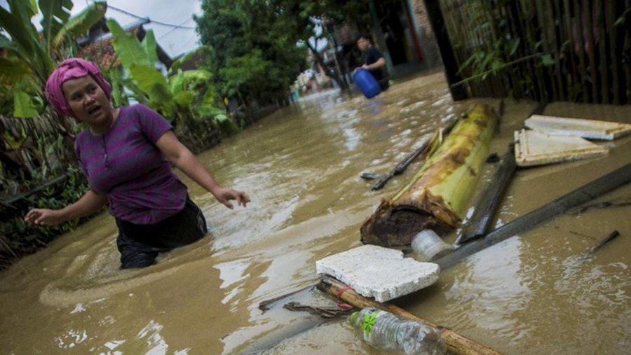 Puluhan Rumah Warga Terendam Banjir di Kabupaten Lebak
