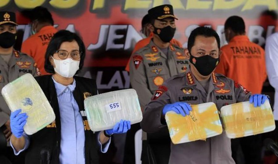 Polri Ungkap Kasus Peredaran Sabu 2,5 Ton Jaringan Timur Tengah-Malaysia