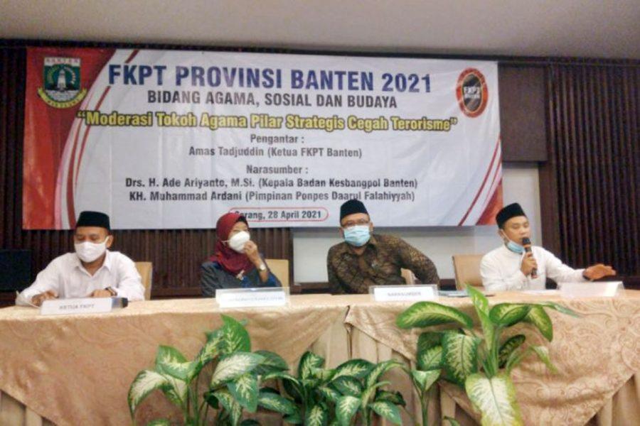 FKPT Banten Libatkan Tokoh Agama Cegah Aksi Terorisme dan Paham Radikalisme