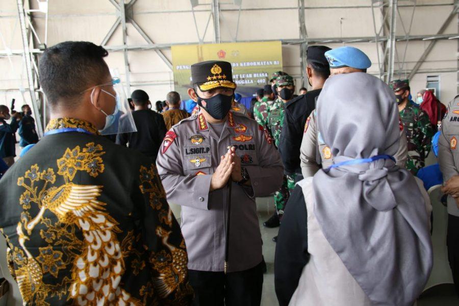 Kapolri Tawarkan Anak-anak Prajurit Awak KRI Nanggala 402 Jadi Polisi