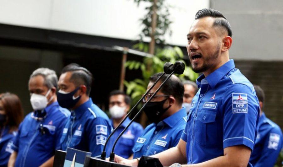 Menkumham Tolak KLB Moeldoko, AHY: Terima Kasih Presiden Jokowi