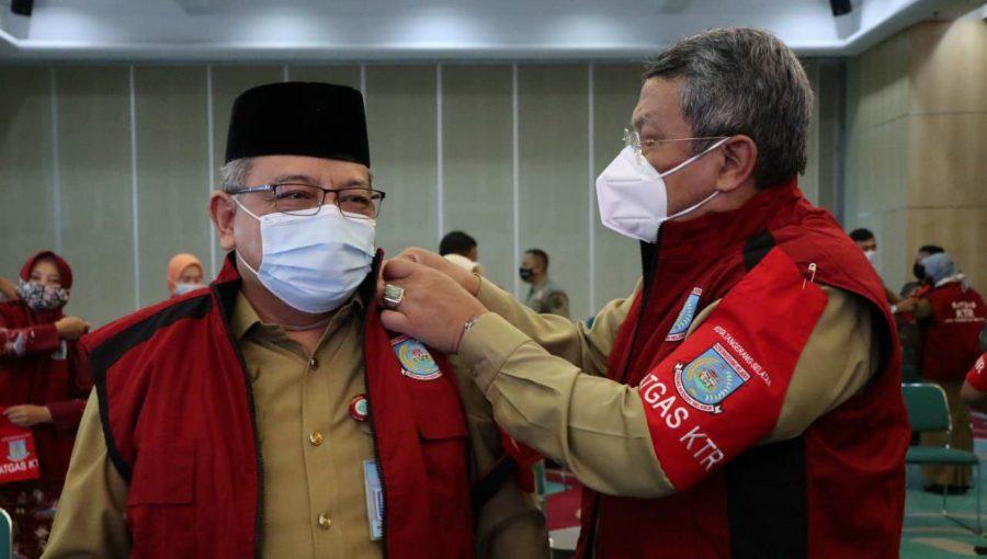 Wakil Walikota Tangsel Kukuhkan Satgas Kawasan Tanpa Rokok KTR