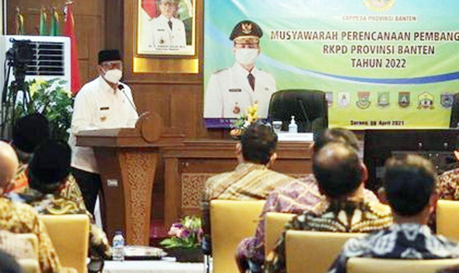Gubernur: Musrenbang Tentukan Nasib Masyarakat Banten di Masa Depan