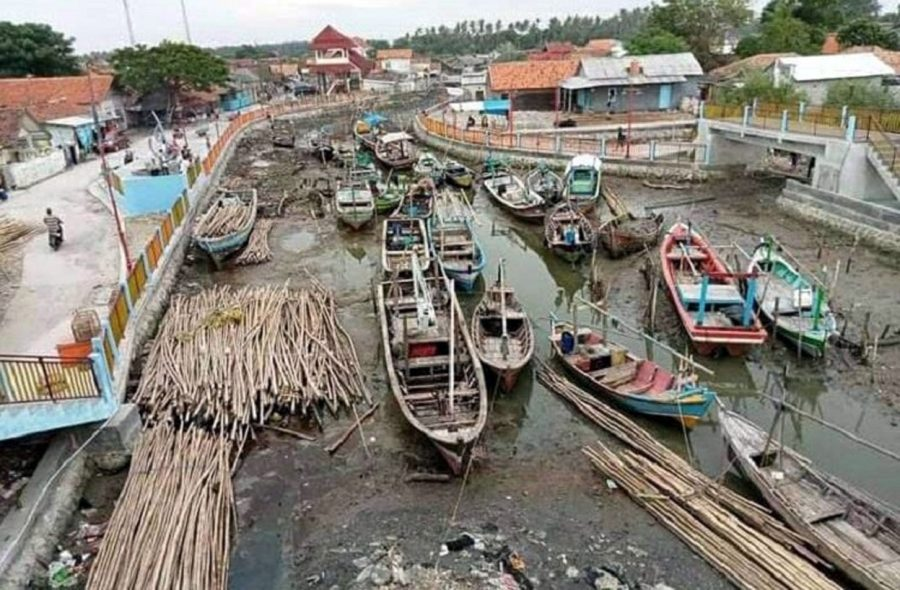Muara Dangkal, Nelayan di Desa Ketapang Tak Bisa Melaut Mencari Ikan