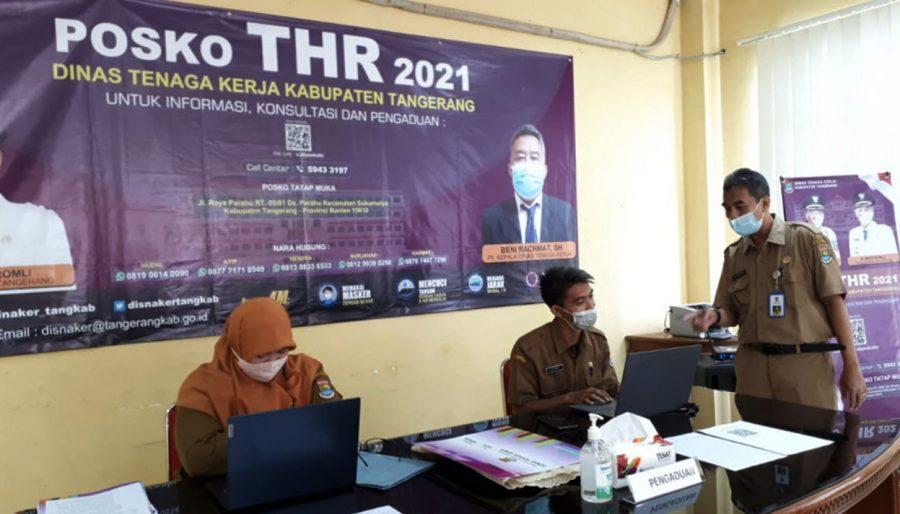 Pemerintah Kabupaten Tangerang Buka Posko Pengaduan THR Karyawan Perusahaan