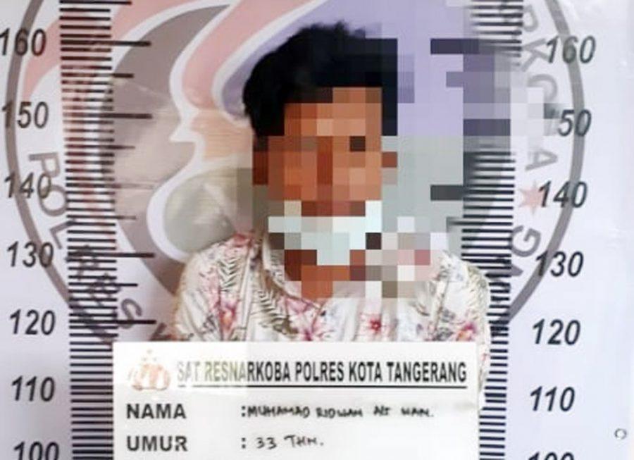 Polresta Tangerang Tangkap Pejual Obat Keras Terlarang Bermodus Toko Kosmetik