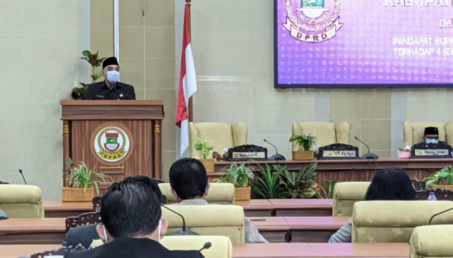 Bupati Tangerang Dukung 4 Raperda Inisiatif DPRD