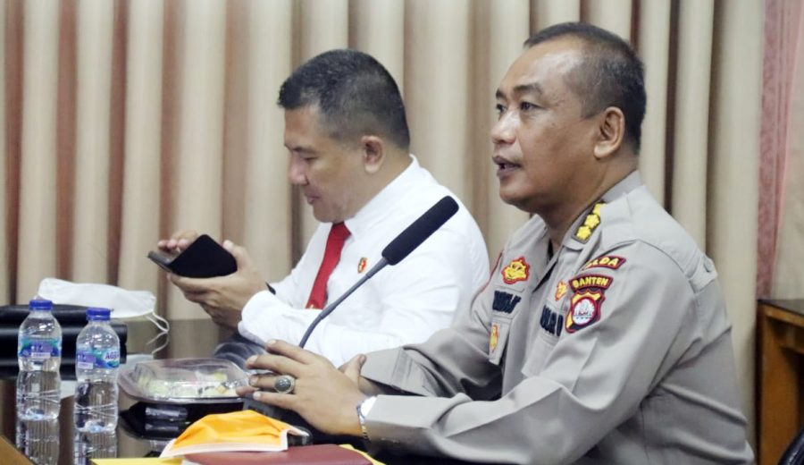 Gangguan Kamtibmas di Wilayah Hukum Polda Banten Mengalami Penurunan 32%
