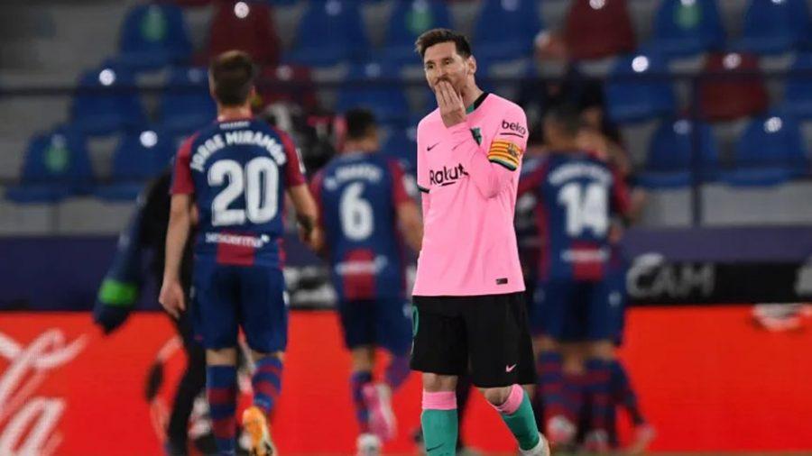 Hasil Pertandingan Barcelona vs Levante Skor Imbang 3-3