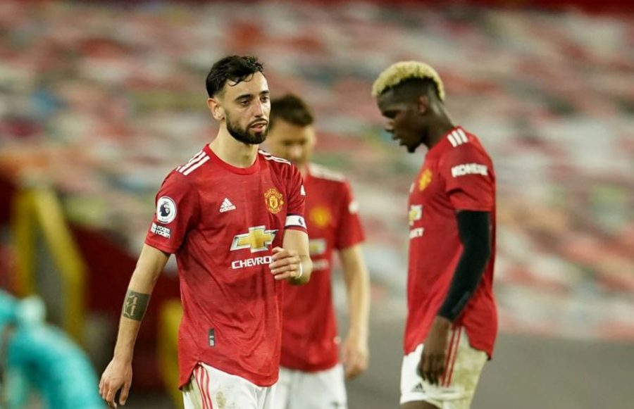 Man United Dikalahkan Liverpool 2-4, Bruno Fernades Emosi Lihat Pertahanan Timnya
