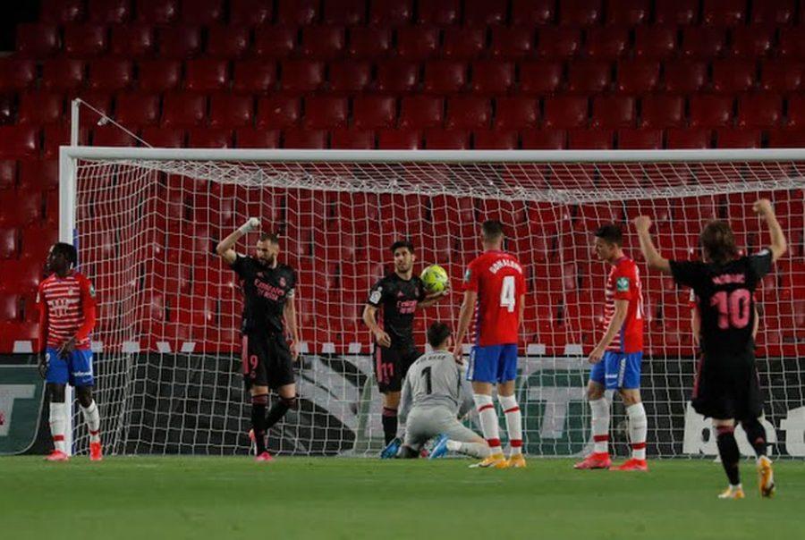 Kalahkan Granada 4-1, Real Madrid Jaga Peluang Juara Liga Spanyol 2020-2021