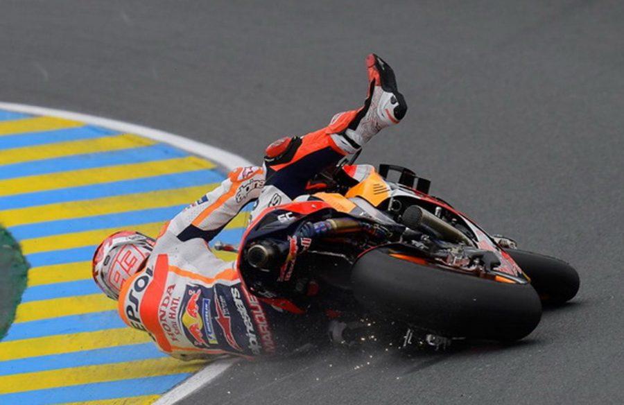Marc Marquez 2 Kali Jatuh di MotoGP Prancis dan Siap Bangkit Lagi